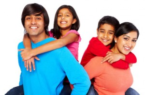 Beautiful-family-having-fun